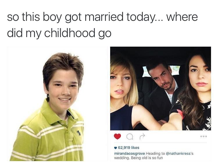 Nathan Kress Got Married In November Of 2015 And The