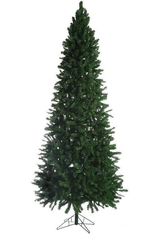 9 Thunder Bay Slim Artificial Christmas Tree 1793 Tips 46 Base Diameter Slim Artificial Christmas Trees Christmas Tree Realistic Artificial Christmas Trees