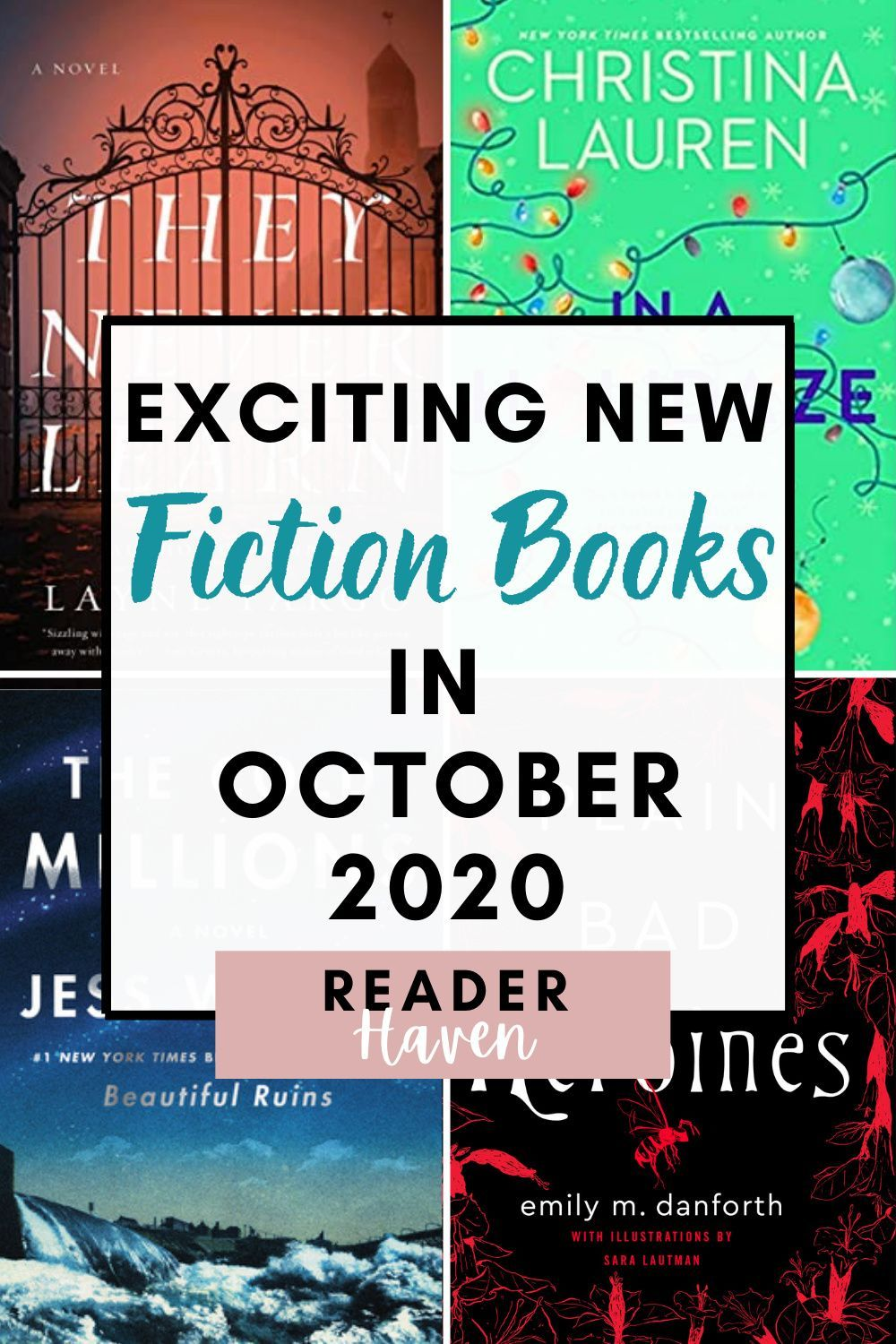 We're getting into spooky season, which means it's time for another list of new books / releases! Here are some of my most-anticipated October 2020 book releases – some of which are PERFECT books for Halloween. #books #booklist #october #halloween #reader