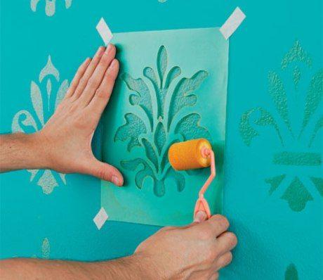 Diy c mo pintar paredes con efectos by artesydisenos - Tecnicas para pintar una habitacion ...