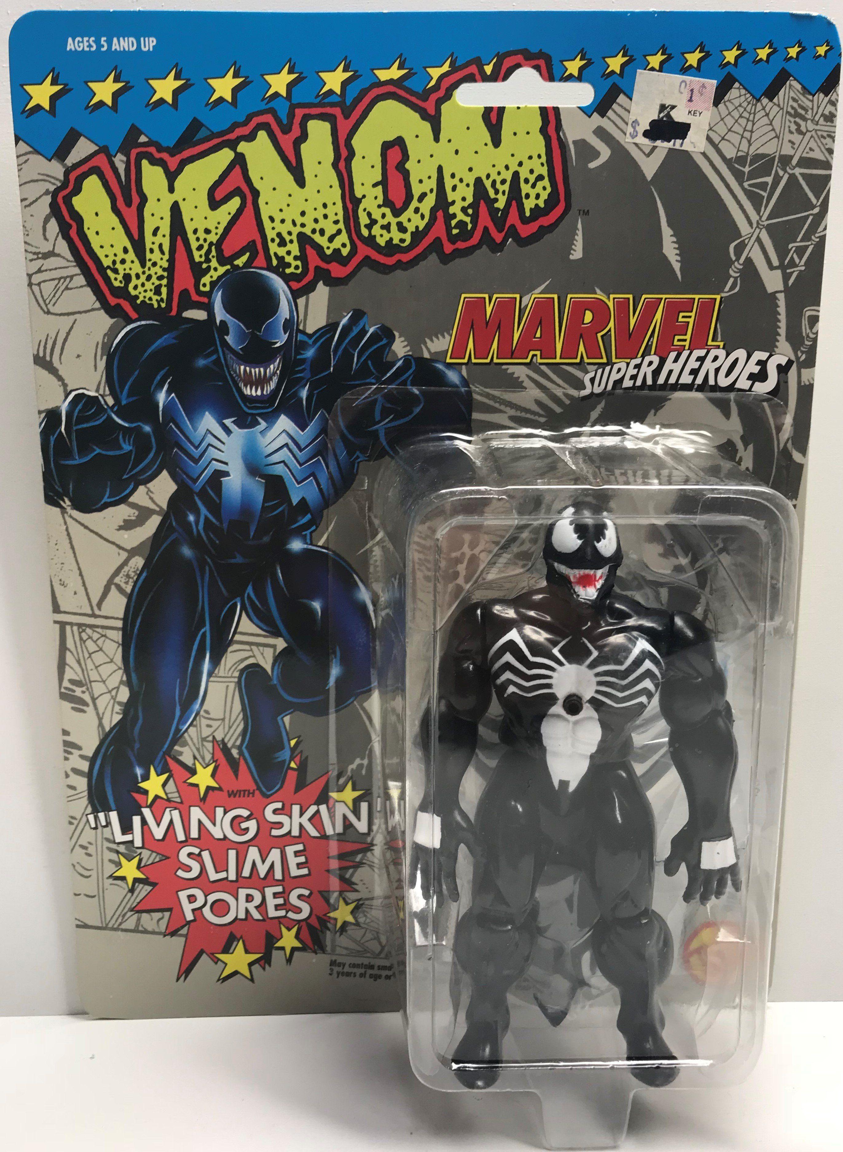 Venom Spider-Man Super Ooze Vs