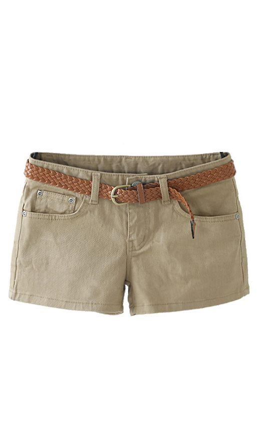 candy color shorts cs102 Khaki #women #fashion