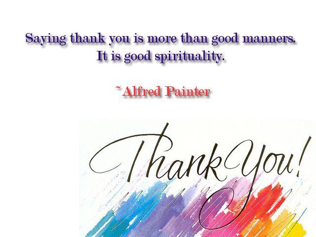 Thank U Quotes