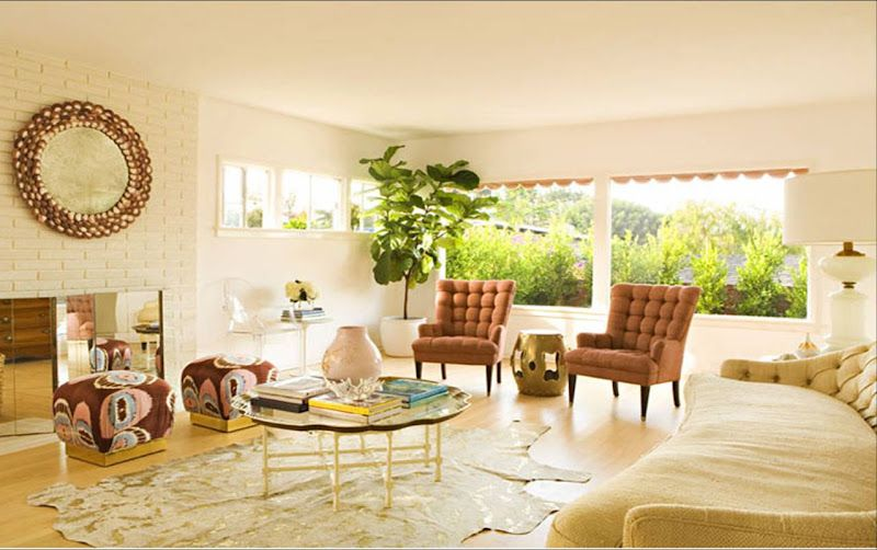 warm-colored and spacious