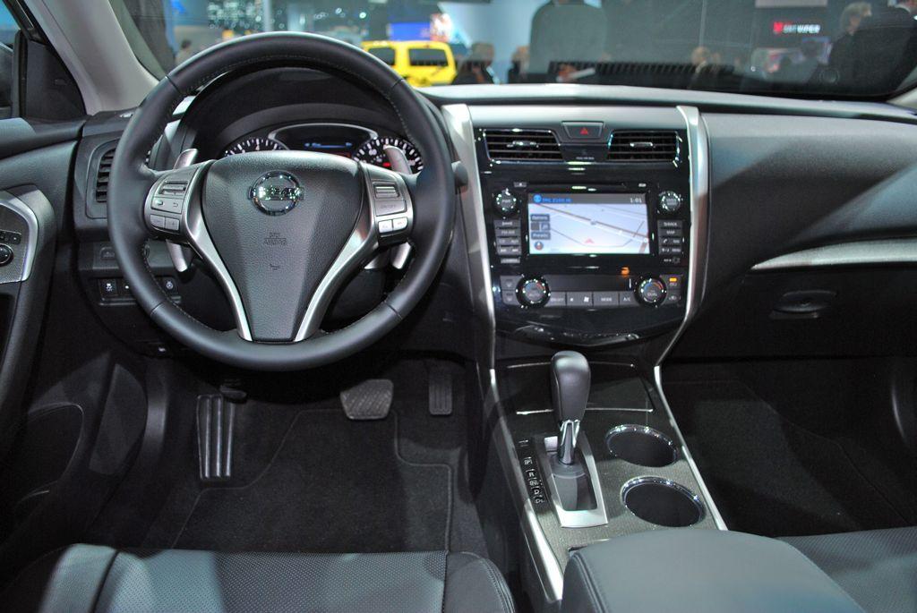 2012 NY Nissan Altima Interior Front