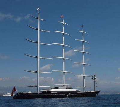 Maltese Falcon..  was for sale...The going price was 135,000,000 euros, but was drastically reduced to the very reasonable 99,000,000 euros ... so if you happen to be a billionaire looking for a sweet ride, here ya go !!