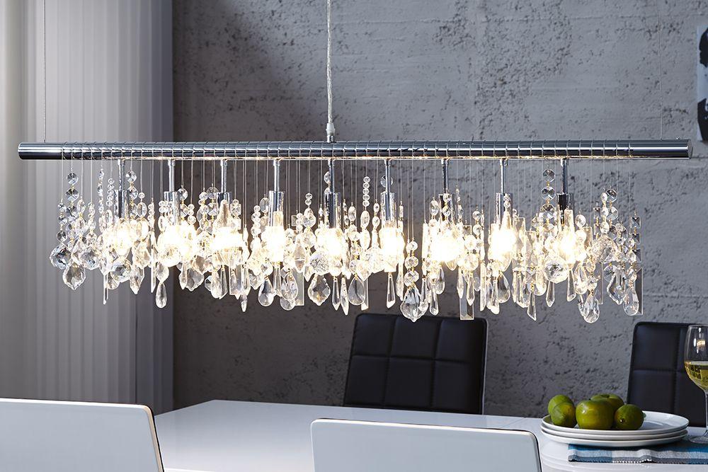 Extravagante Hängelampe Diamonds Xl 120cm Kristall Lampe