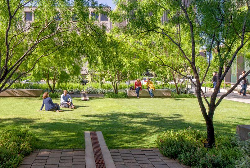 Belo03.jpg Landscape plaza, The university of texas at