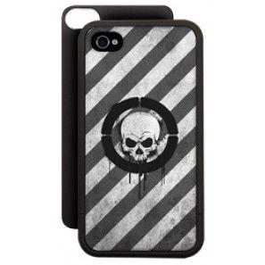 myKase (Dark Graffiti) Starter Kit for the iPhone 4/4S (matte black)