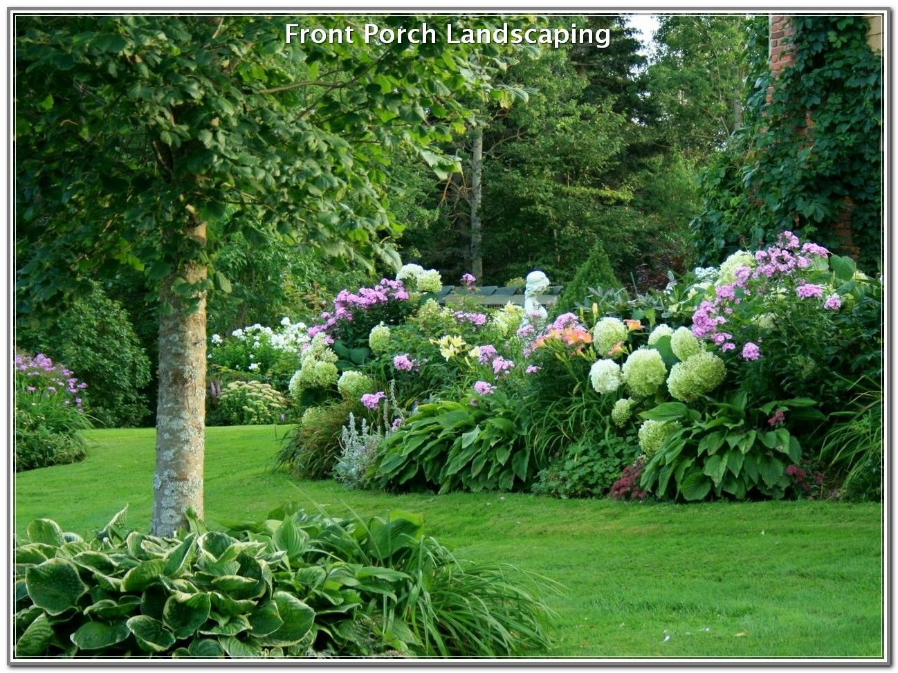 How To Have A Beautiful Landscaped Yard Hydrangea Landscaping Hydrangea Garden Beautiful Gardens