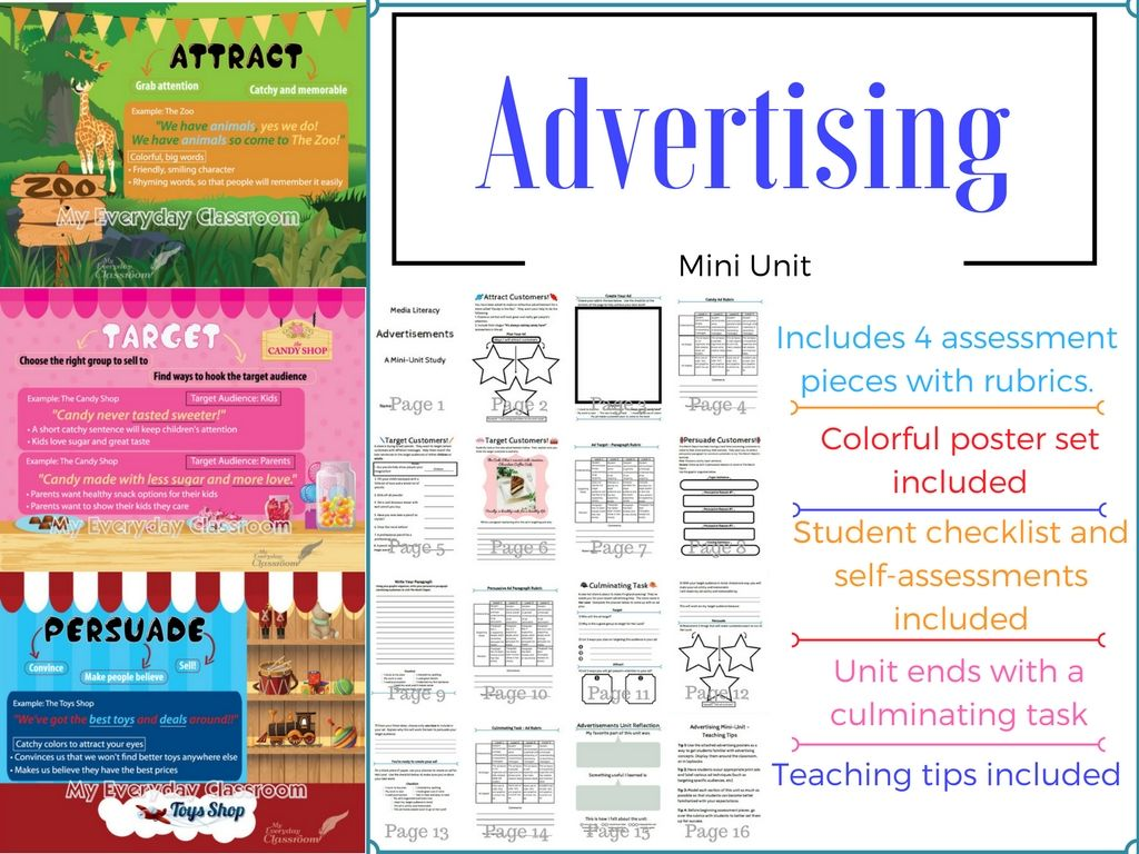 Advertising Unit Amp Poster Set
