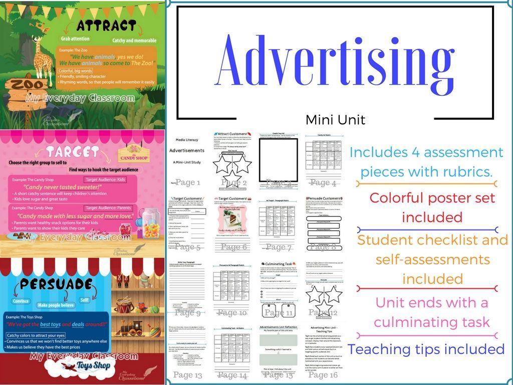 Advertising Unit Amp Poster Set