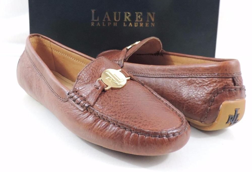 Shoes Carley Women's Ralph Loafer Moccasin Driving Lauren 80PXnkwON