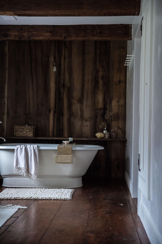 Baño | Revestimiento Paredes Y Suelo De Madera