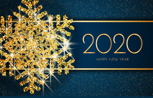 Happy New Year 2020 Card Best New Year Greeting Cards New