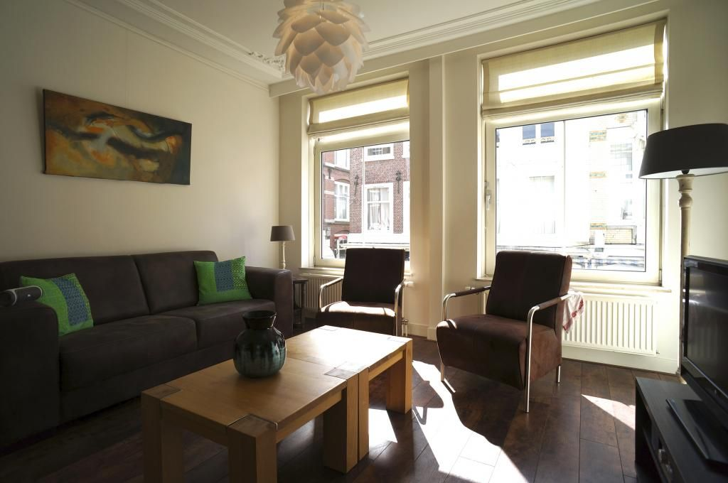 The charming living room of Stayci Royal Luxuious Apartment in The Hague