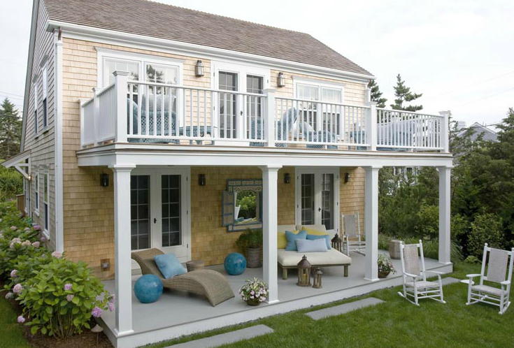 23 Inspirational Covered Deck Ideas To Inspire You Check It Out Cottage Homes House Cottage Exterior