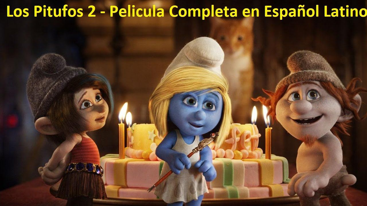 Dibujos Animados Infantiles Los Pitufos 2 Pelicula Completa En Espanol Latino The Smurfs 2 Smurfs Movie Kid Movies