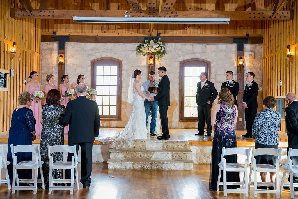 Indoor Wedding Ceremony Intimate Small Under 50 Guest Count
