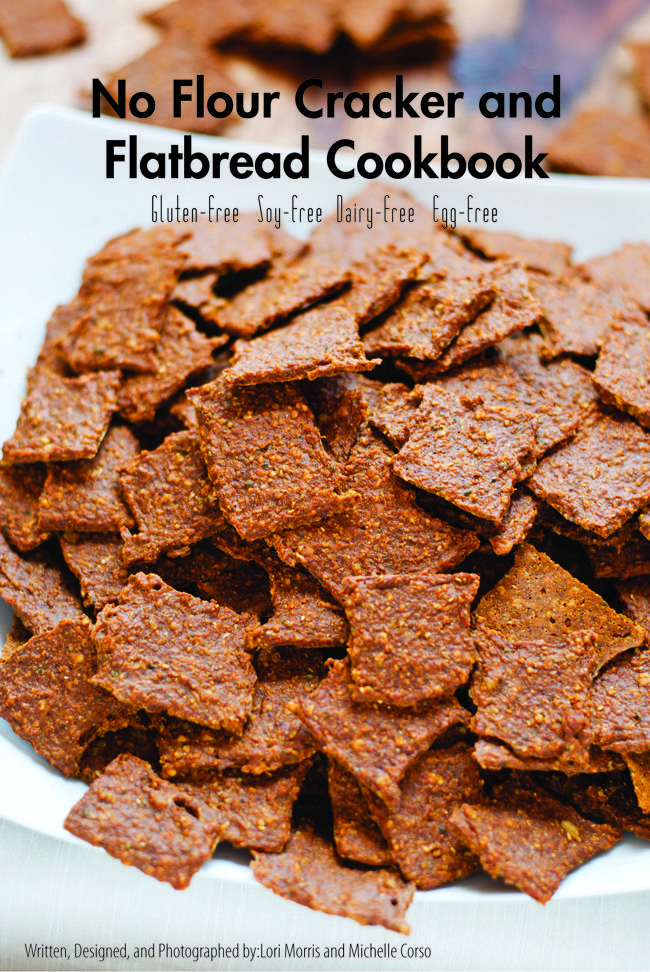 The No Flour Cracker and Flatbread Cookbook is your complete gluten-free, vegan, mostly grain-free, soy-free, dairy-free, egg-free, paleo-friendly, real food cookbook! Inside you will find 49-pages, full color PDF digital/ebook with 12 healthy no flour recipes. These crackers and flatbreads are the perfect on-the-go snack or a wonderful addition to a meal.