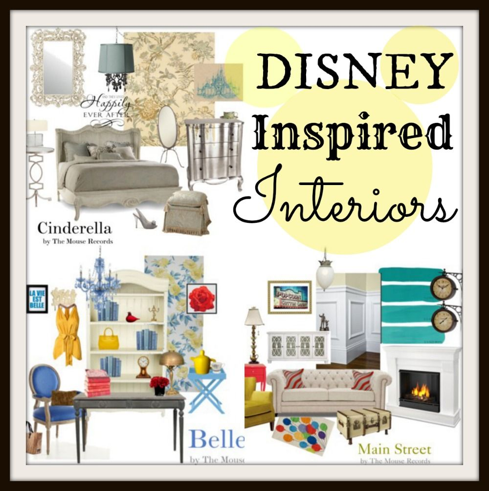 Disney home collection disney inspired interiors