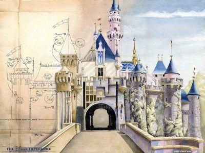 DisneyCastleElevation- Imagineering 101
