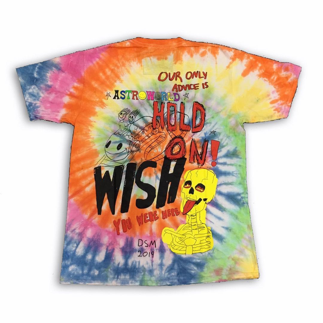 Buy Dsm Tie Dye Astroworld Merch Tie Dye Mens Tops Travis Scott Merch [ 1080 x 1080 Pixel ]