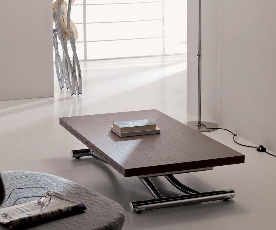 Ozzio Mondial Tisch T096 Wohnzimmertische Verstellbarer Couchtisch Couchtisch