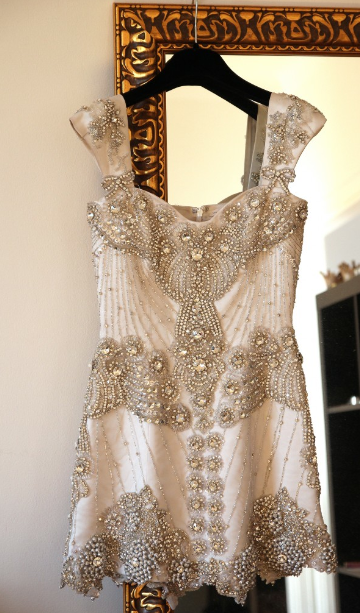 Incredible beaded and embellished dress