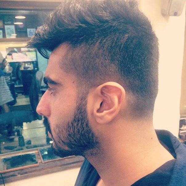 New Hairstyle medium length pompadour hairstyle for thick hair New Hair Style India Httpnew Hairstylerunew