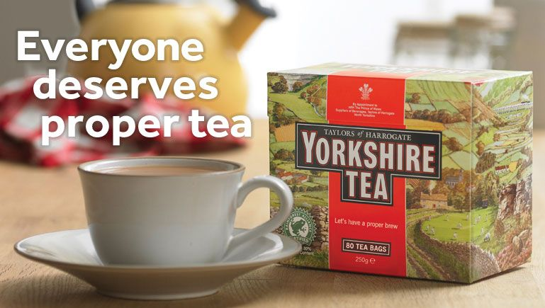 Yorkshire Tea Blended And Packed In Harrogate North