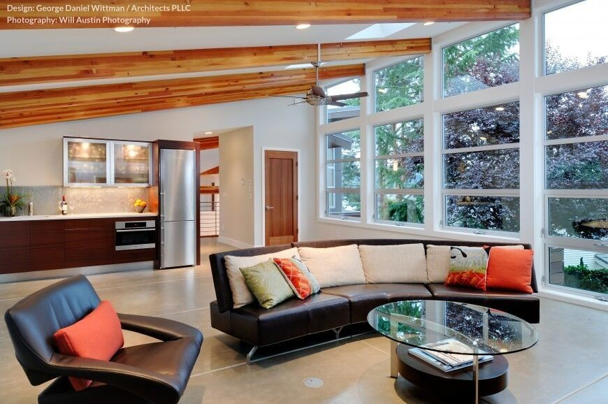32 Spectacular Living Room Designs With Exposed Beams Pictures Custom Ceiling Modern Design For Living Rooms Inspiration Design