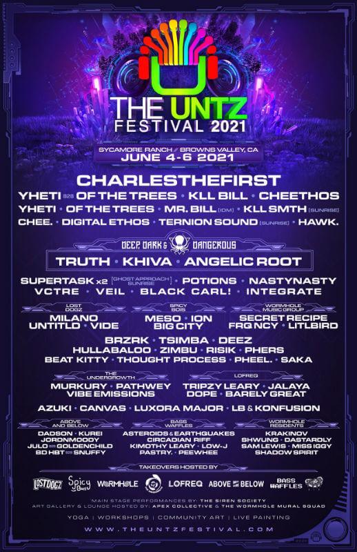 The Untz Festival 2021 In 2020 Festival Electronics Festival American Festivals
