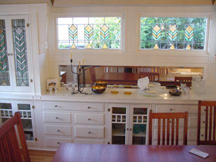 Krista Van Laan Frank Wolfe Prairie House Dining Room Cabinet Prairie House Living Dining Room