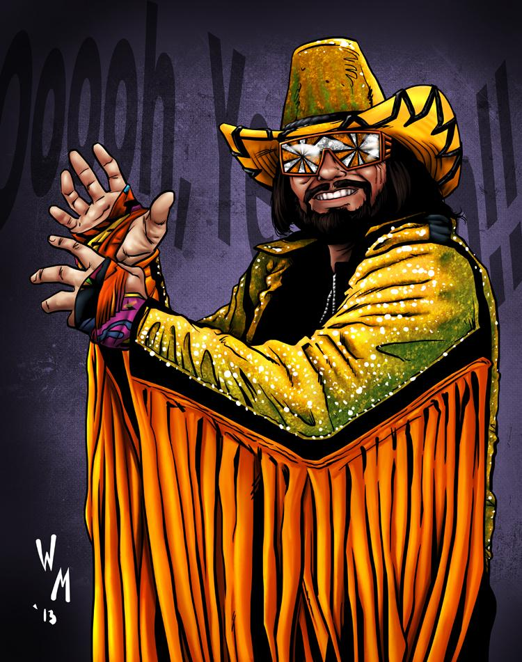 Macho Man Randy Savage By Quibly On Deviantart Macho Man Randy Savage Art Macho Man Randy Savage Macho Man