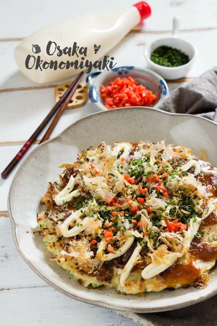Osaka okonomiyaki recipe osaka japanese food and asian food recipes japanese dishes forumfinder Image collections