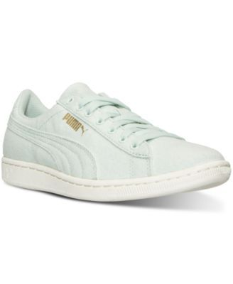 64a01f2253ba PUMA Puma Women s Vikky Canvas Casual Sneakers from Finish Line.  puma   shoes   all women