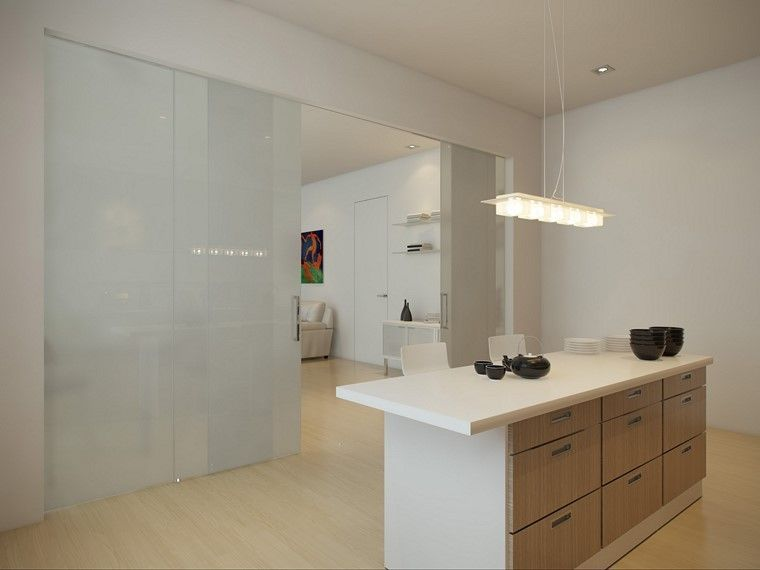 pared cristal blanco puertas color blanco ideas Decoración - brigitte küchen händler