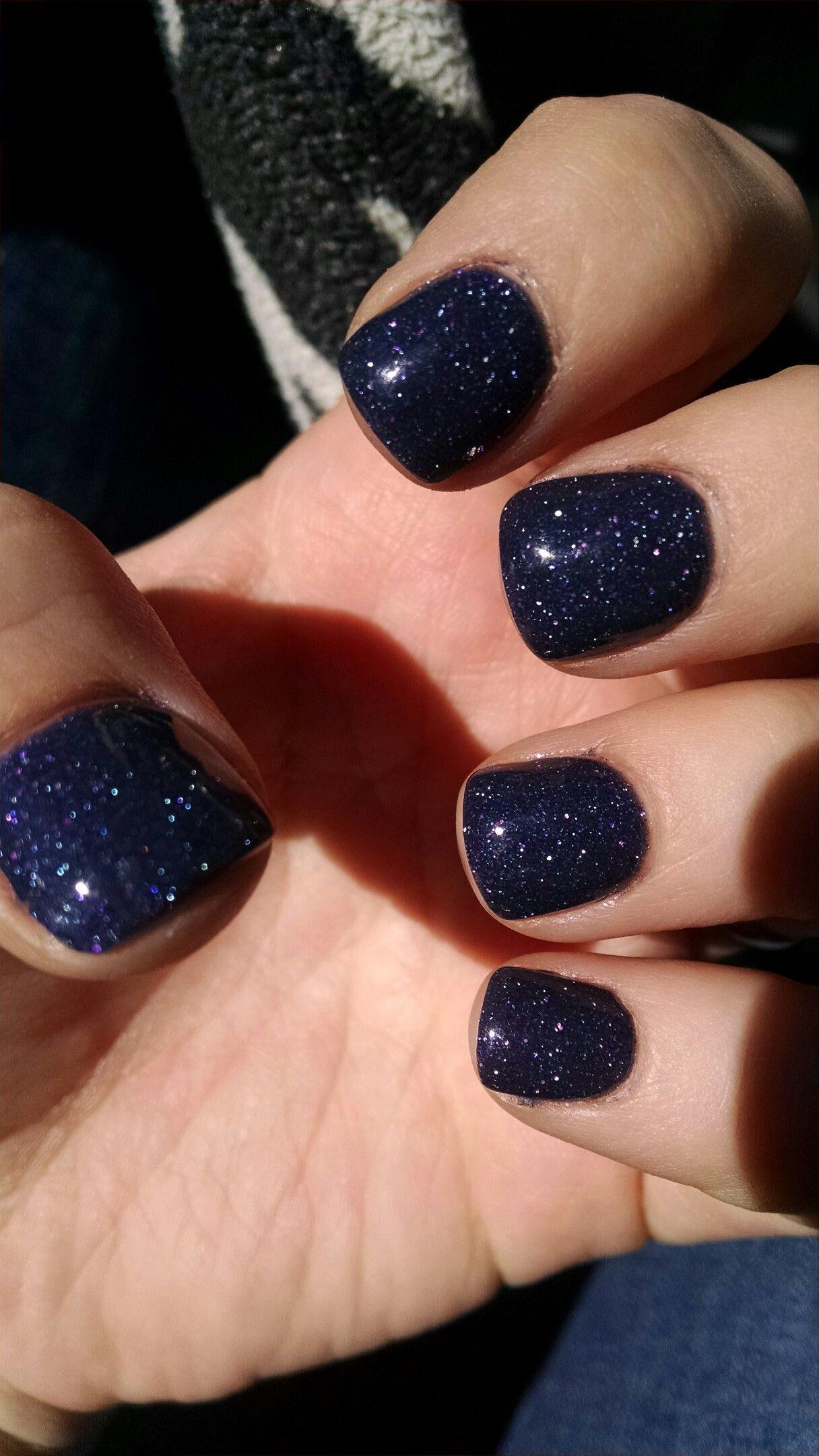 Sparkly blue/purple NexGen nails | Fashion: Nail Art - Rhonda ...