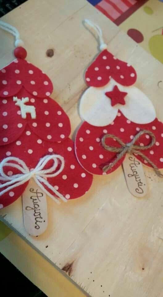 Estos adornos navide os son realmente sencillos y r pidos de hacer simplemente se trata de - Adornos navidenos sencillos ...