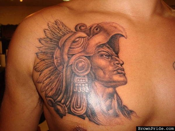 Aztec Tattoos On Chest Http Tattooswall Com Aztec Tattoos On Chest Html Aztec Aztec Tattoos Ches Aztec Tattoos Aztec Warrior Tattoo Aztec Tattoo Designs