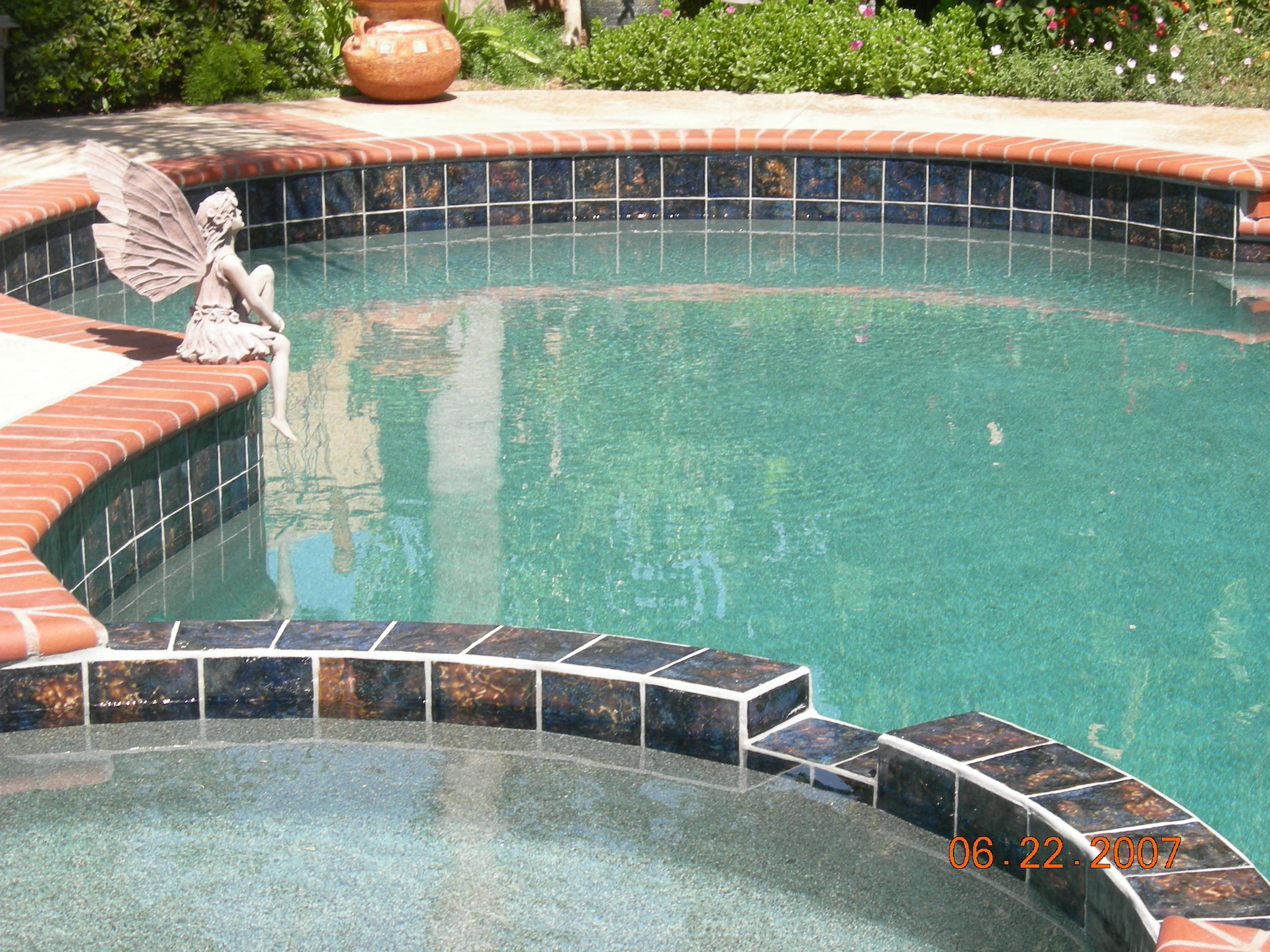 Swimming Pool Design Tiles Home Colour Design Fujiwa Swimming Pool ...