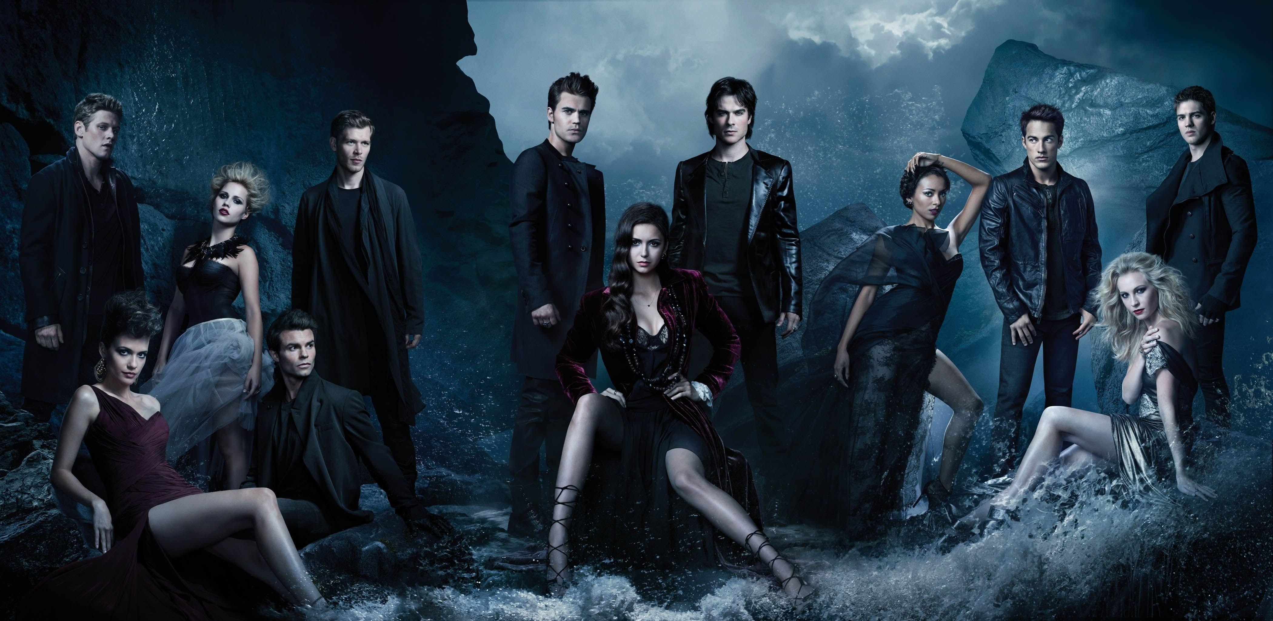 Vampire Diaries Digital Wallpaper The Series Nina Dobrev The Vampire Diaries Elena The Vampi Vampire Diaries Wallpaper Vampire Diaries Seasons Vampire Diaries