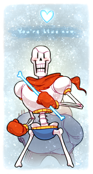 You Are Blue Now Wallpaperpapyrus And Sansundertalephone