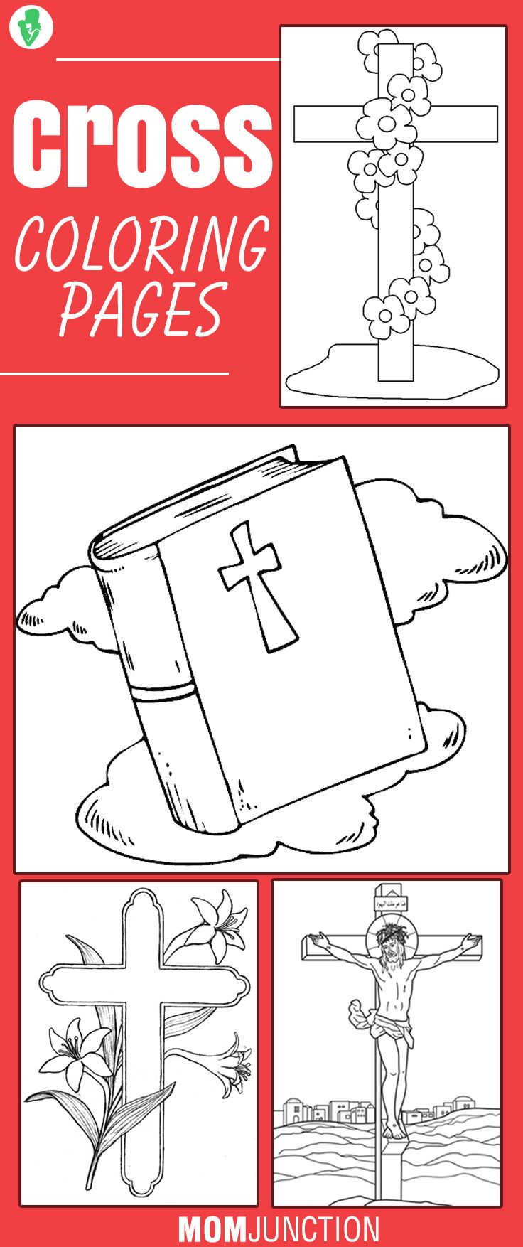 Top 10 Free Printable Cross Coloring