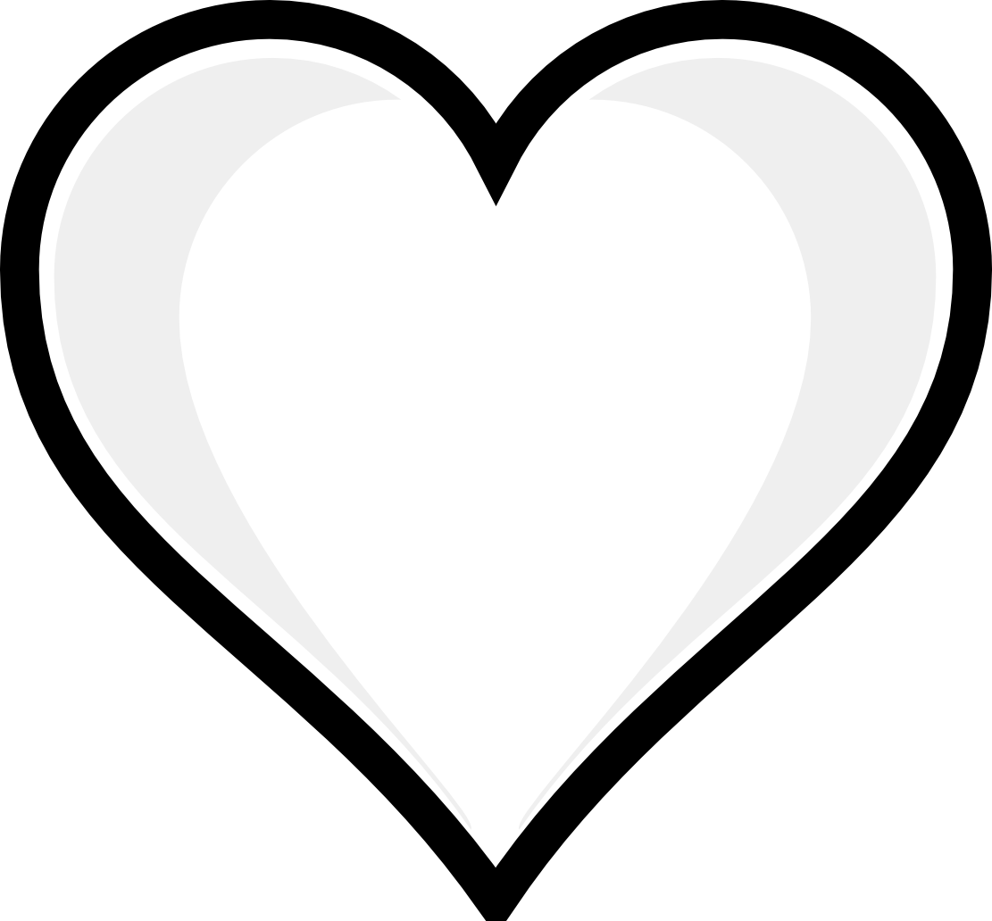 color hearts heart coloring pages