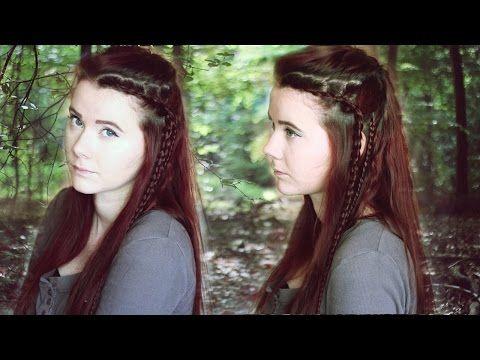 FRISUR I Octavia aus The 100 I Tutorial , YouTube
