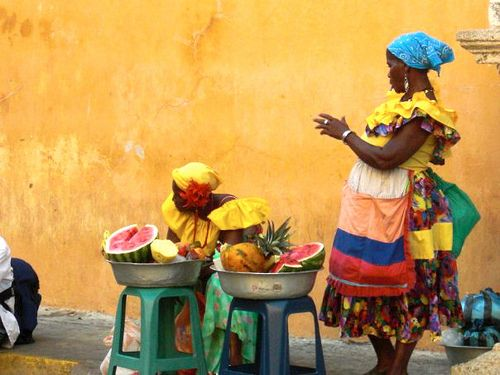 Caribbean Culture: Yellow And Brown
