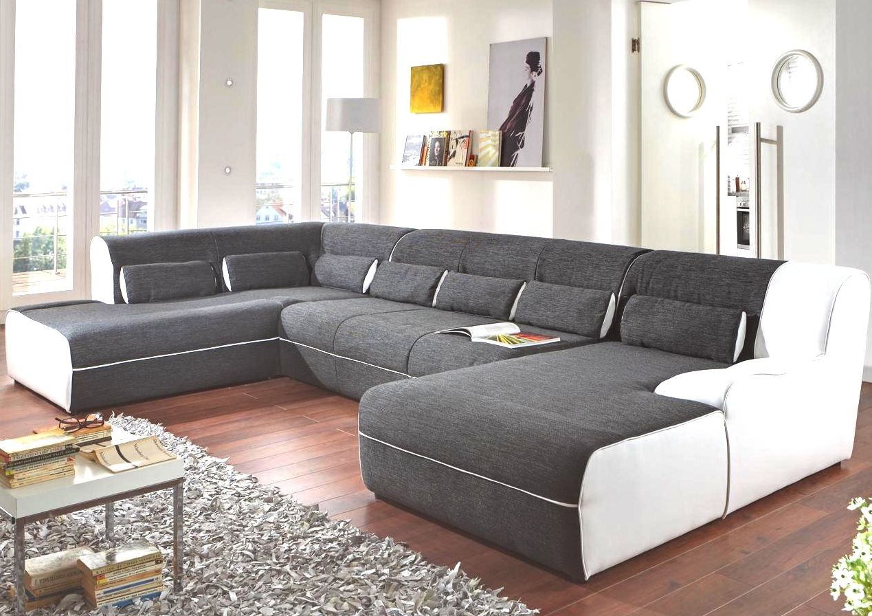 White Living Room Wall Idea Feat Cool U Shaped Couch Design Also Fluffy Area Rug Couch And Loveseat Couch Design Cheap Couch