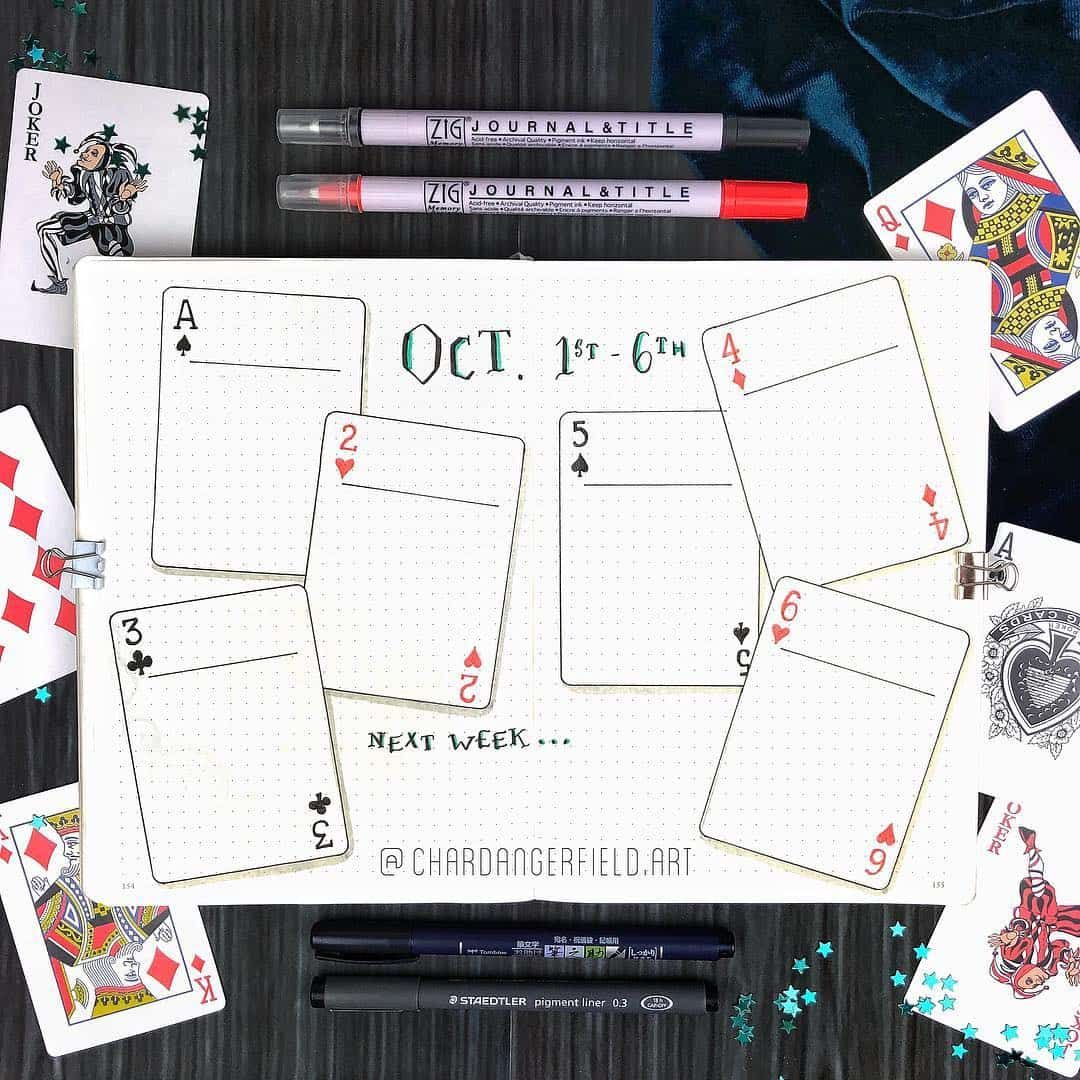 49 Magical Alice In Wonderland bullet journal Themes | My Inner Creative